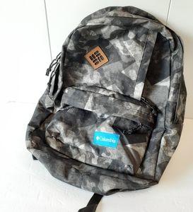 Columbia Abstract Geometric Camo Backpack